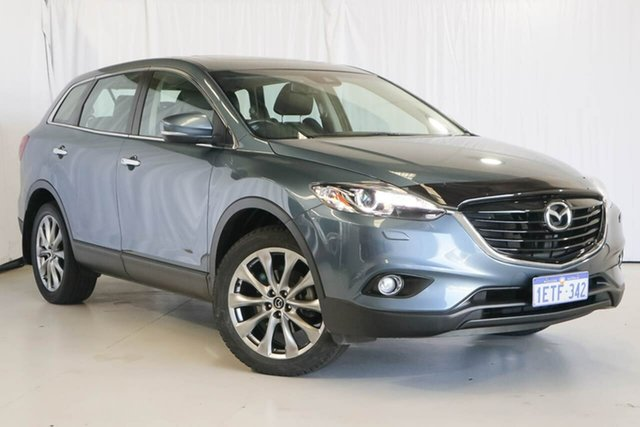 Used Mazda CX-9 TB10A5 Grand Touring Activematic AWD, 2015 Mazda CX-9 TB10A5 Grand Touring Activematic AWD Blue 6 Speed Sports Automatic Wagon