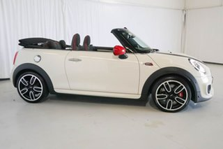 2017 Mini Convertible F57 John Cooper Works White 6 Speed Sports Automatic Convertible