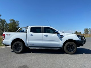 2017 Ford Ranger PX MkII XLT Double Cab Frozen White 6 Speed Sports Automatic Double Cab Pick Up.