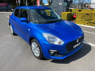 2017 Suzuki Swift AZ GL Navigator Blue 1 Speed Constant Variable Hatchback.