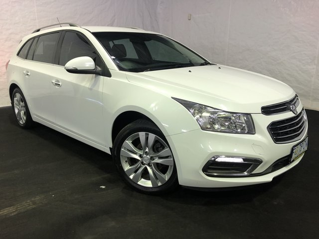 Used Holden Cruze JH Series II MY16 CDX Sportwagon, 2016 Holden Cruze JH Series II MY16 CDX Sportwagon Summit White 6 Speed Sports Automatic Wagon
