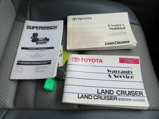 2009 Toyota Landcruiser VDJ76R Workmate (4x4) White 5 Speed Manual Wagon