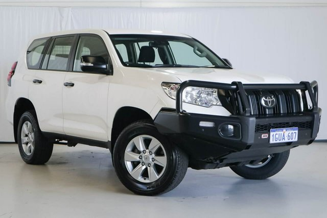 Used Toyota Landcruiser Prado GDJ150R GX, 2019 Toyota Landcruiser Prado GDJ150R GX White 6 Speed Sports Automatic Wagon