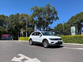 2020 Volkswagen Tiguan 5N MY20 132TSI DSG 4MOTION Comfortline White 7 Speed.