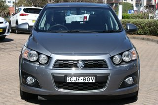 2012 Holden Barina TM MY13 CDX Grey 6 Speed Automatic Hatchback