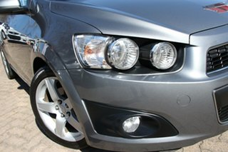 2012 Holden Barina TM MY13 CDX Grey 6 Speed Automatic Hatchback.