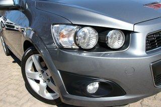 2012 Holden Barina TM MY13 CDX Grey 6 Speed Automatic Hatchback.