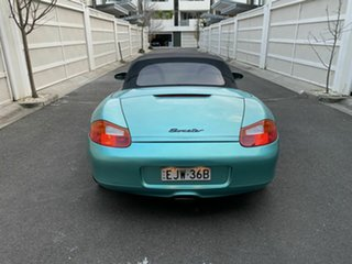 1997 Porsche Boxster 986 Green 5 Speed Sports Automatic Convertible
