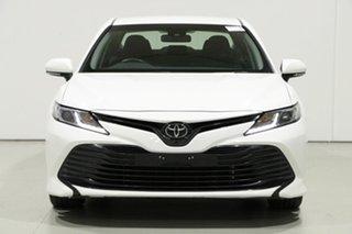 2019 Toyota Camry ASV70R Ascent White 6 Speed Automatic Sedan.