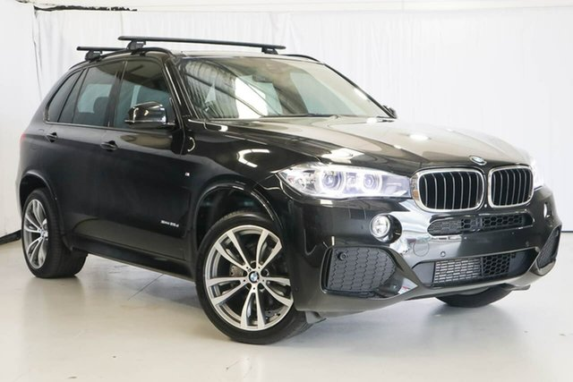 Used BMW X5 F15 sDrive25d, 2016 BMW X5 F15 sDrive25d Black 8 Speed Automatic Wagon