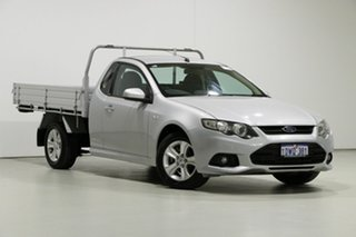 2012 Ford Falcon FG MK2 XR6 (LPi) Silver 6 Speed Automatic Cab Chassis.