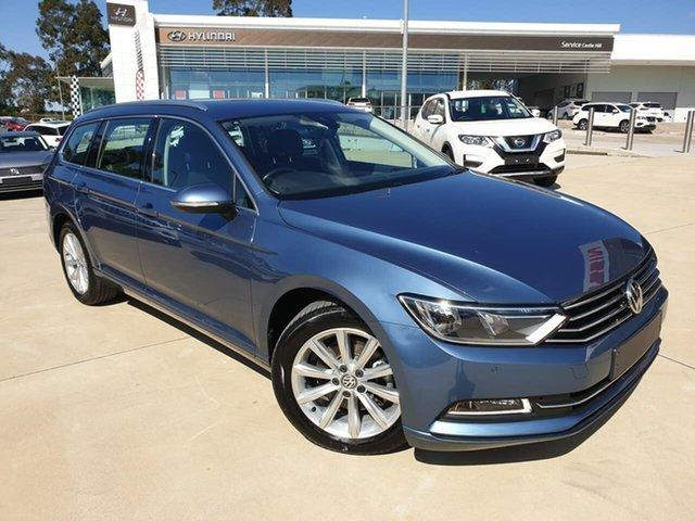 Used Volkswagen Passat 3C (B8) MY18 132TSI DSG Comfortline, 2018 Volkswagen Passat 3C (B8) MY18 132TSI DSG Comfortline Atlantic Blue 7 Speed