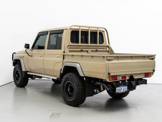 2018 Toyota Landcruiser VDJ79R GXL (4x4) Beige 5 Speed Manual Double Cab Chassis