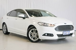 2017 Ford Mondeo MD 2017.50MY Ambiente White 6 Speed Sports Automatic Hatchback.