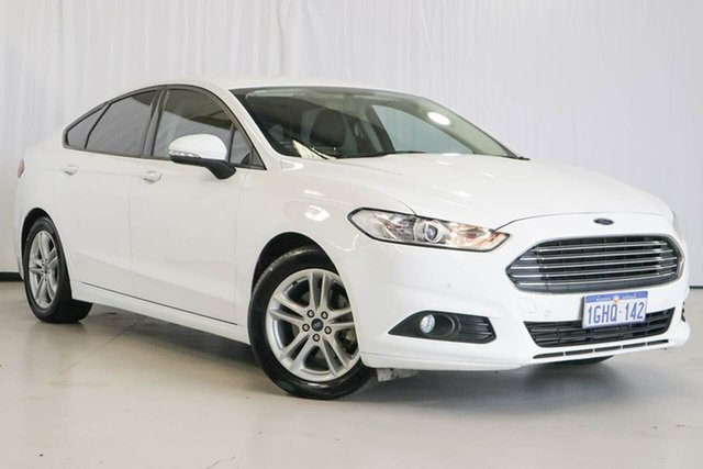 Used Ford Mondeo MD 2017.50MY Ambiente, 2017 Ford Mondeo MD 2017.50MY Ambiente White 6 Speed Sports Automatic Hatchback