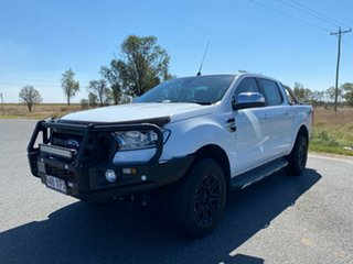 2017 Ford Ranger PX MkII XLT Double Cab Frozen White 6 Speed Sports Automatic Double Cab Pick Up
