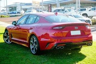 2019 Kia Stinger CK MY20 GT Fastback Red 8 Speed Sports Automatic Sedan.