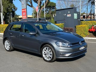 2017 Volkswagen Golf 7.5 MY18 110TSI DSG Comfortline Grey 7 Speed Sports Automatic Dual Clutch.