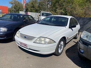 2000 Ford Falcon AU Futura White 4 Speed Automatic Sedan
