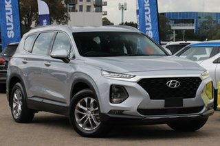 2018 Hyundai Santa Fe DM4 MY18 Active Typhoon Silver Automatic Wagon.