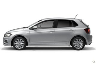 2019 Volkswagen Polo AW MY20 85TSI DSG Style Silver 7 Speed Sports Automatic Dual Clutch Hatchback