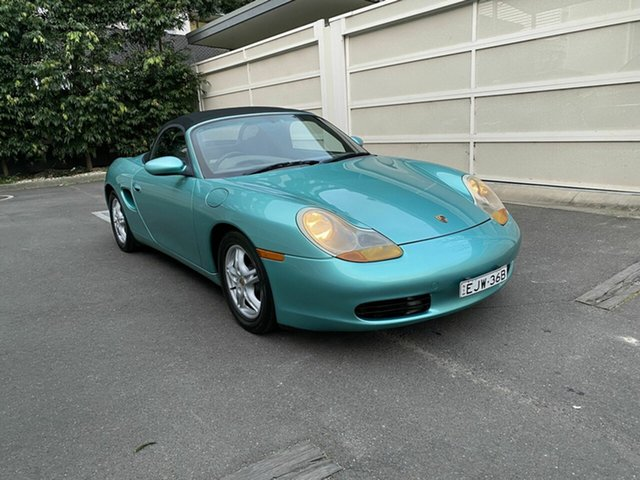 Used Porsche Boxster 986 Zetland, 1997 Porsche Boxster 986 Green 5 Speed Sports Automatic Convertible