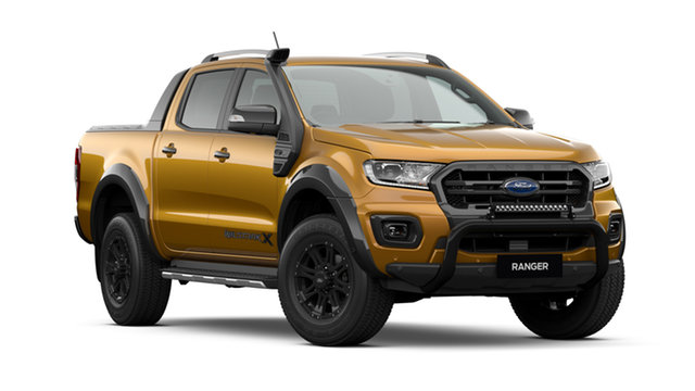 New Ford Ranger PX MkIII 2020.75MY Wildtrak, 2020 Ford Ranger PX MkIII 2020.75MY Wildtrak Orange 6 Speed Sports Automatic Double Cab Pick Up