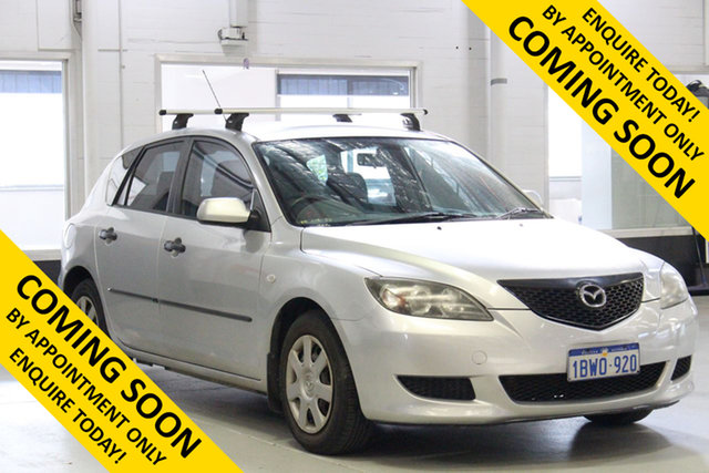 Used Mazda 3 BK Neo, 2005 Mazda 3 BK Neo Silver 4 Speed Auto Activematic Hatchback