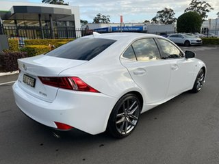 2016 Lexus IS GSE31R IS350 F Sport White 8 Speed Sports Automatic Sedan