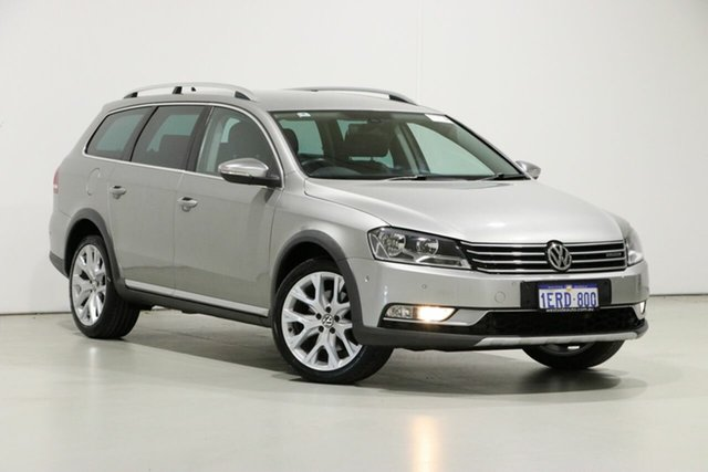 Used Volkswagen Passat 3C MY14 Alltrack, 2014 Volkswagen Passat 3C MY14 Alltrack Gold 6 Speed Direct Shift Wagon