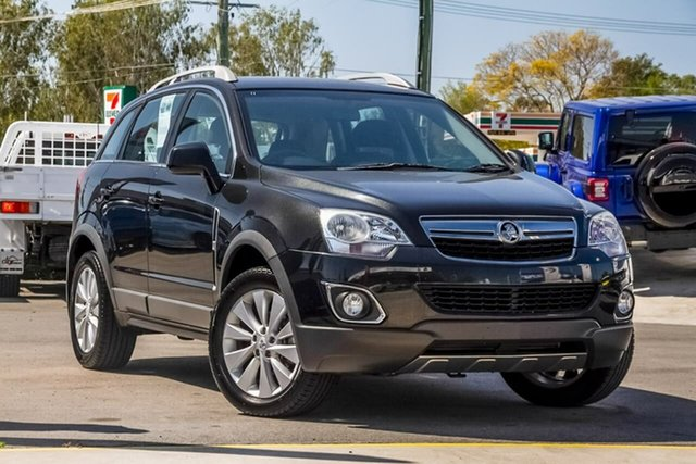 Used Holden Captiva CG MY14 5 LT, 2013 Holden Captiva CG MY14 5 LT Black 6 Speed Manual Wagon