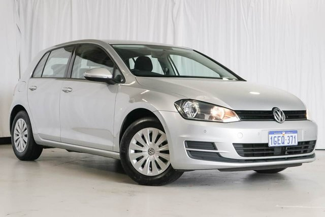 Used Volkswagen Golf VII MY17 92TSI DSG, 2016 Volkswagen Golf VII MY17 92TSI DSG Silver 7 Speed Sports Automatic Dual Clutch Hatchback