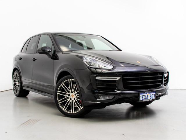 Used Porsche Cayenne Series 2 MY15 GTS, 2015 Porsche Cayenne Series 2 MY15 GTS Black 8 Speed Automatic Tiptronic Wagon