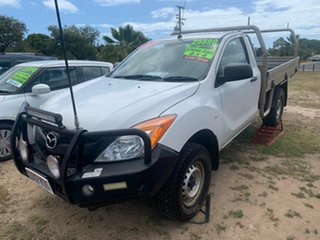 2015 Mazda BT-50 XT White 6 Speed Manual Utility.