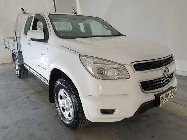 Used Holden Colorado RG MY13 LX Space Cab, 2012 Holden Colorado RG MY13 LX Space Cab White 6 Speed Sports Automatic Cab Chassis