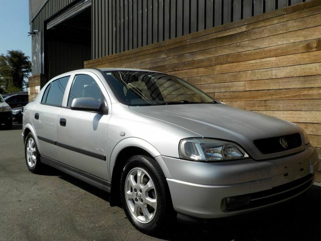 Used Holden Astra TS Equipe City, 2002 Holden Astra TS Equipe City Silver 5 Speed Manual Hatchback