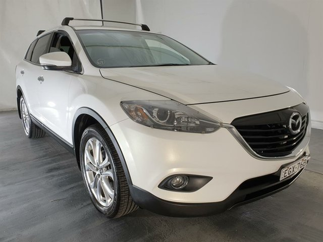 Used Mazda CX-9 TB10A5 Luxury Activematic, 2013 Mazda CX-9 TB10A5 Luxury Activematic White 6 Speed Sports Automatic Wagon