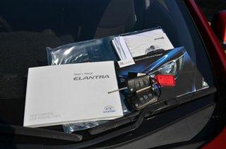 2013 Hyundai Elantra MD2 Premium Maroon 6 Speed Automatic Sedan