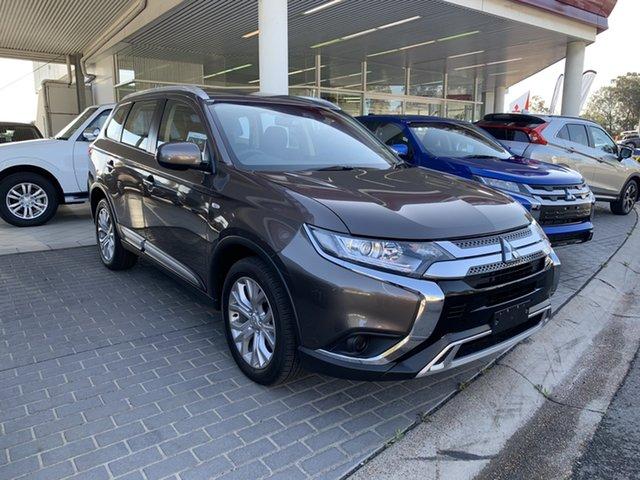 Demo Mitsubishi Outlander ZL MY20 ES 2WD, 2019 Mitsubishi Outlander ZL MY20 ES 2WD Ironbark 6 Speed Constant Variable Wagon