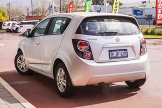 2013 Holden Barina TM MY13 CD Silver 6 Speed Automatic Hatchback.