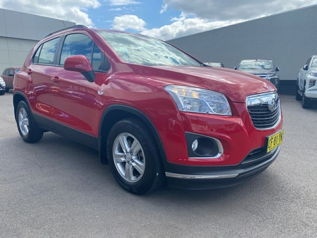 Used Holden Trax TJ MY15 LS, 2015 Holden Trax TJ MY15 LS Red 6 Speed Automatic Wagon