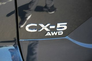 2020 Mazda CX-5 KF4WLA GT SKYACTIV-Drive i-ACTIV AWD Deep Crystal Blue 6 Speed Sports Automatic