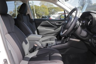 2019 Subaru Forester S5 MY20 2.5i Premium CVT AWD White Crystal 7 Speed Constant Variable Wagon