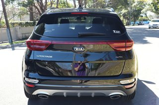 2020 Kia Sportage QL MY21 GT-Line AWD Black Cherry 6 Speed Sports Automatic Wagon