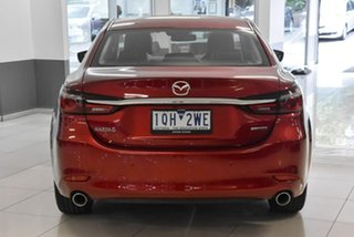 2019 Mazda 6 GL1033 GT SKYACTIV-Drive Red 6 Speed Sports Automatic Sedan
