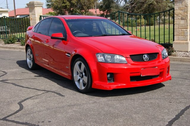 Used Holden Commodore VE MY08 SS-V, 2008 Holden Commodore VE MY08 SS-V Red 6 Speed Manual Sedan
