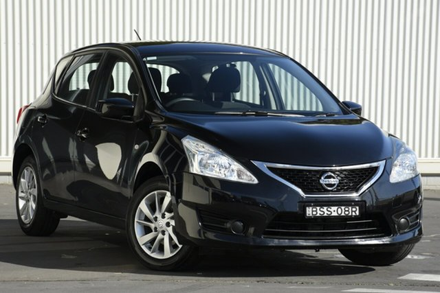 Used Nissan Pulsar C12 Series 2 ST, 2015 Nissan Pulsar C12 Series 2 ST Black 1 Speed Constant Variable Hatchback