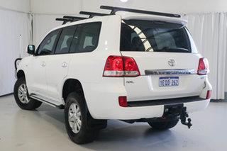 2009 Toyota Landcruiser VDJ200R GXL White 6 Speed Sports Automatic Wagon.
