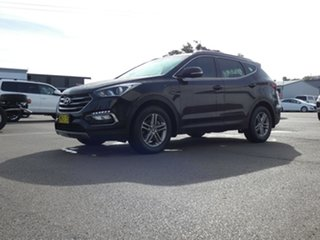 2017 Hyundai Santa Fe DM3 MY17 Active Black 6 Speed Sports Automatic Wagon.