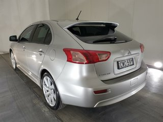 2014 Mitsubishi Lancer CJ MY14.5 GSR Sportback Silver 6 Speed Constant Variable Hatchback